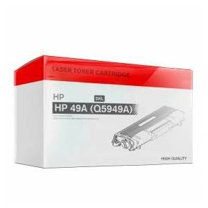 HP Laser Printer Toner, Refilled, Replaces HP 49A (Q5949A), 2500, Black