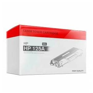 HP Laser Printer Toner, Refilled, Replaces HP 125A (CB542A), 1400, Yellow