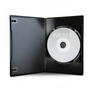 Amaray DVD Cases, Slim 7 mm, Machine-pack-quality, Black, 100-pack