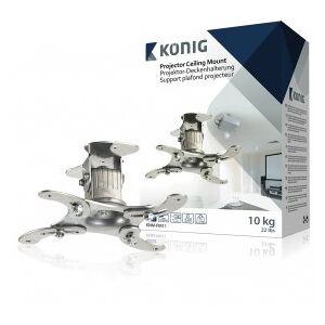 König Projector ceiling mount 10 kg / 22 lbs silver