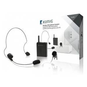 König Wireless microphone system with body pack