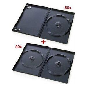 DVD-cases combibox 100 (50 x 1 DVD + 50 x 2 DVD)