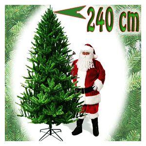 palms24.com Christmas tree Majestic with a pedestal, 240 cm - Green