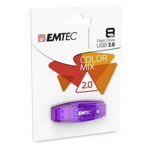 EMTEC C410 8GB 8GB USB 2.0 Black USB flash drive