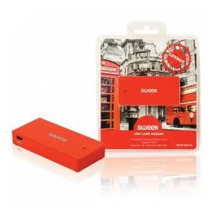 Sweex Card reader USB London red