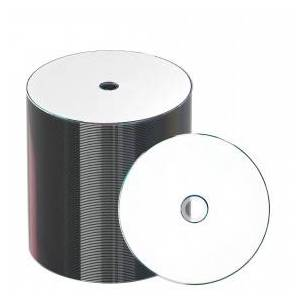 JVC Taiyo Yuden CD-R 80 min/700 MB 48x, Full printable White, 100 pieces in ECO-pack