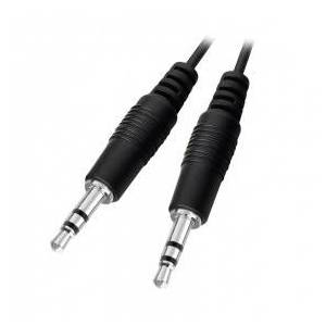 Valueline Stereo 3.5 mm Jack Audio cable, 2.5 m, Black