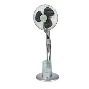 AEG VL 5569 LB Stand Fan With humidifier, 80 W, Oscillation, remote Control, Gray
