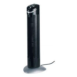 AEG T-VL 5531 Tower fan, 50 W, Space-saving, Oscillation, Timer, Black