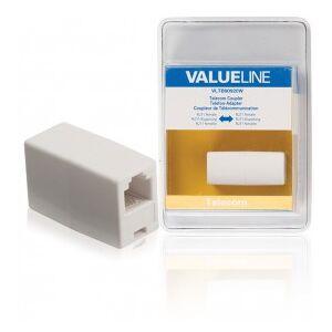 Valueline Telecom coupler RJ11 female - RJ11 female white