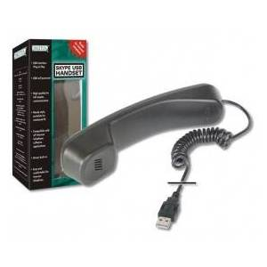 Digitus SKYPE USB telephone handset DA-70772 - Analog Phone