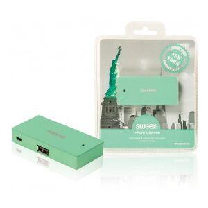 Sweex 4-port USB hub New York mint
