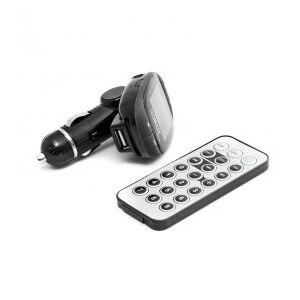 Technaxx FMT500 FM Transmitter, 87.5 MHz - 108 MHz, LCD display, Black