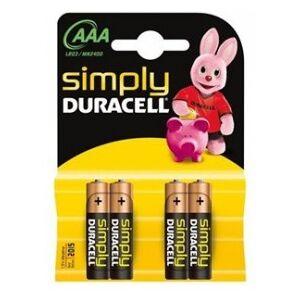 Duracell Simply MN2400 - Battery Micro (AAA) 1.5 V - Alkali-Mangan