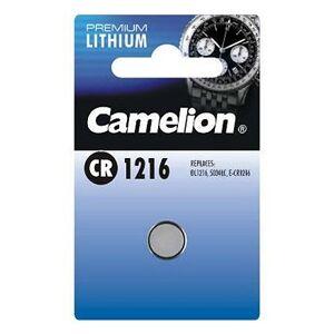 Camelion Lithium Button Cell, CR1216 / DL1216 / 5034LC / E-CR1216, 3V - 1 pieces