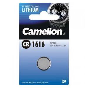 Camelion Lithium Button Cell, CR1616 / DL1616 / 5021LC / E-CR1616, 3V - 1 pieces
