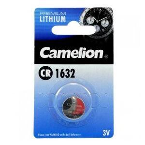 Camelion Lithium Button Cell, CR1632 / DL1632 / E-CR1632, 3V - 1 pieces
