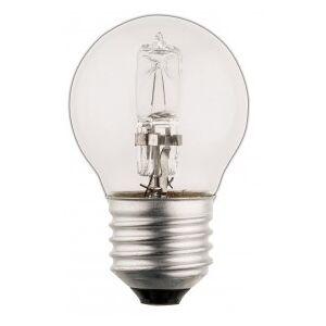 HQ Halogen lamp, Bulb, E27, 230 V, 2800 K Warm white, 630 lm