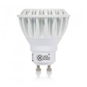 LEDs Change the World LED-Lamp, Reflector, GU10, 220 to 240 V, 8 W, 2700 K (Warm white), 460 lm, Dimmable