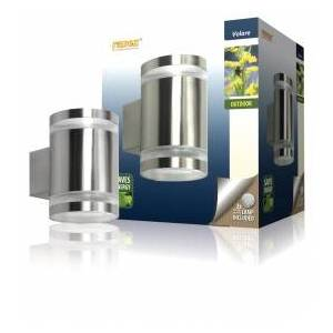 Century Outdoor wall light from stainless steel with two lights