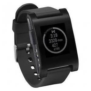 Pebble Smartwatch 301BL, Suitable for Android 4.1 / iOS6, Bluetooth 4.0, Black