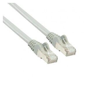 Valueline Ethernet patch cable (network cable), Ethernet RJ45 Gigabit, CAT 5e, 1 m