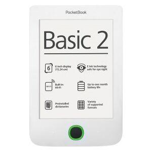 "Pocketbook Basic 2 - Ebook Reader - 0,26 GB 15,24 cm/6"""