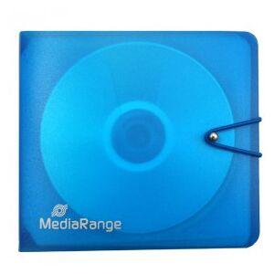 MediaRange CD/DVD-Folder for 12 CD/DVD with elastic closure