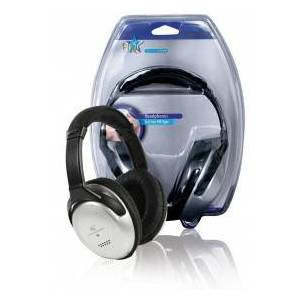 HQ Hifi headphones with 6 m cable and volume control 6.00 m