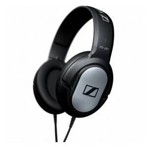 Sennheiser HD 201 - Headphones - Stereo 165 g - Silver, Black