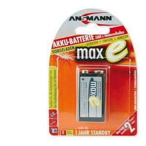 Ansmann maxE - Rechargable Battery 9V 200 mAh 9 V - Nickel Metal Hydride (NimH)