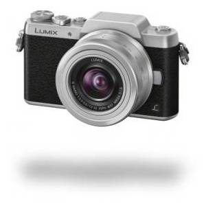 "Panasonic Lumix G DMC-GF7K - Digital Camera - 16 MP 12 mm-32 mm - Display: 7,6 cm/3"" TFT - Silver, Black"