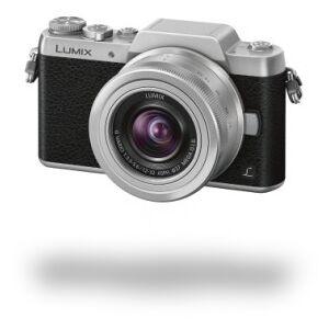 "Panasonic Lumix G DMC-GF7K - Digital Camera - 16 MP 12 mm-32 mm - Display: 7,6 cm/3"" TFT - Silver, Black"