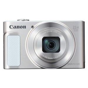 "Canon PowerShot SX620 HS - Digital Camera - 20,2 MP CMOS 4,5 mm-112,5 mm - Display: 5,8 cm/2,3"" TFT - Silver, White"