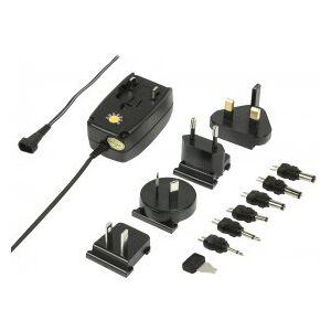 HQ Universal AC/DC Adaptor, 600 mAh, 12V DC