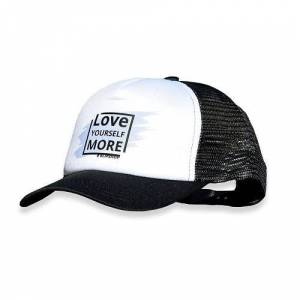 KlipShop Branded Snap-on Hat - Love Yourself More White