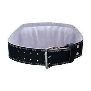 Harbinger 6 Inch Padded Leather Belt Black (Small) - 1 unit