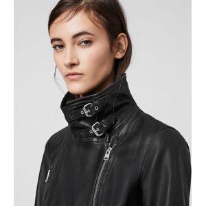 AllSaints Bales Leather Biker Jacket  Size 2