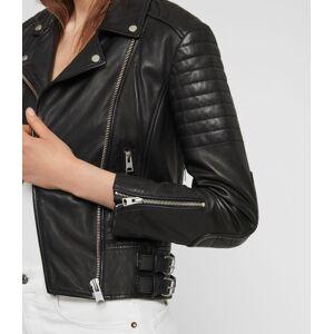AllSaints Papin Leather Biker Jacket  Size 2