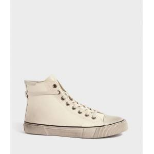 AllSaints Osun High Top Leather Trainers  UK 8/US 9/EU 42