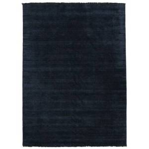 RugVista Handloom fringes - Dark Blue  rug 9′10″x13′1″ (300x400 cm) Modern Carpet