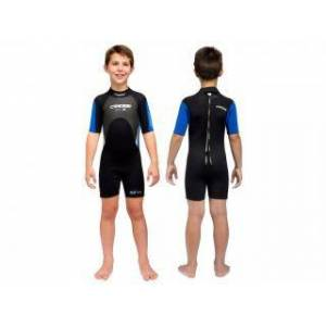 Cressi SHORTY MED X Size II 3mm KID 8-9 Years