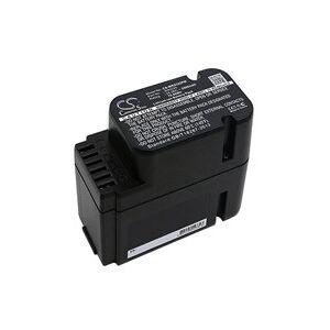 Worx Landroid M800 WG790E.1 kompatibilní baterie (2500 mAh, Černá)
