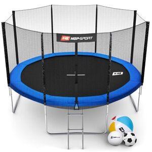 Hop-Sport Trampolína  12ft (366cm) s vnější ochrannou sítí + žebřík