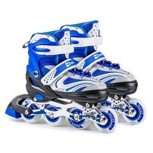 Hop-Sport Kolečkove brusle 3 v 1 HS-8101 Speed S Modré