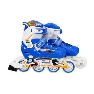 Flimboo Kolečkové brusle pro děti modré YX-0151-15