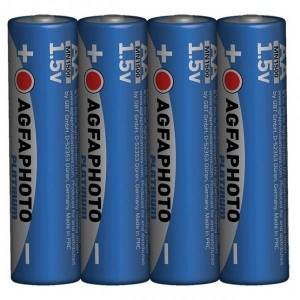 Solight Power alkalická baterie AgfaPhoto LR06/AA, 1,5 V, 4 ks