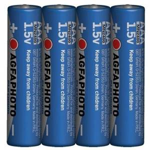 Solight Power alkalická baterie AgfaPhoto LR03/AAA, 1,5 V, 4 ks