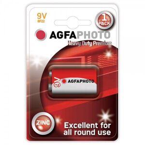 Solight Zinková baterie AgfaPhoto  9 V, blistr 1 ks
