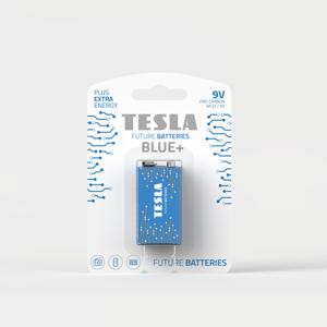 TESLA BATTERIES a.s. Zinková baterie Tesla BLUE+ 9 V, blistr 1 ks